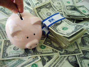 Save for car title loans payment